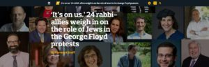 Forward: 24 Rabbis on the George Floyd Protests